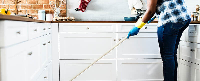 Nettoyage de la copropriété
