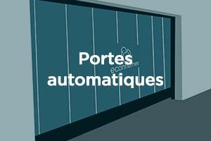 Portes automatiques en copropriete