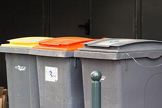 poubelles tries en ville