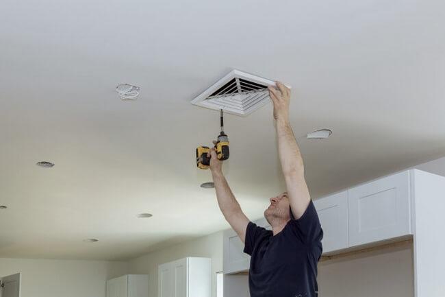 Installation de ventilation vmc en copropriété