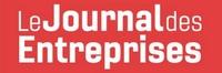 Logo Le Journal des Entreprises article proptech charges de copropriété