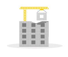 Permis précaire bâtiment tertiaire