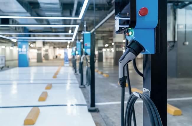 recharge voiture électrique immeuble neuf bornes partagées