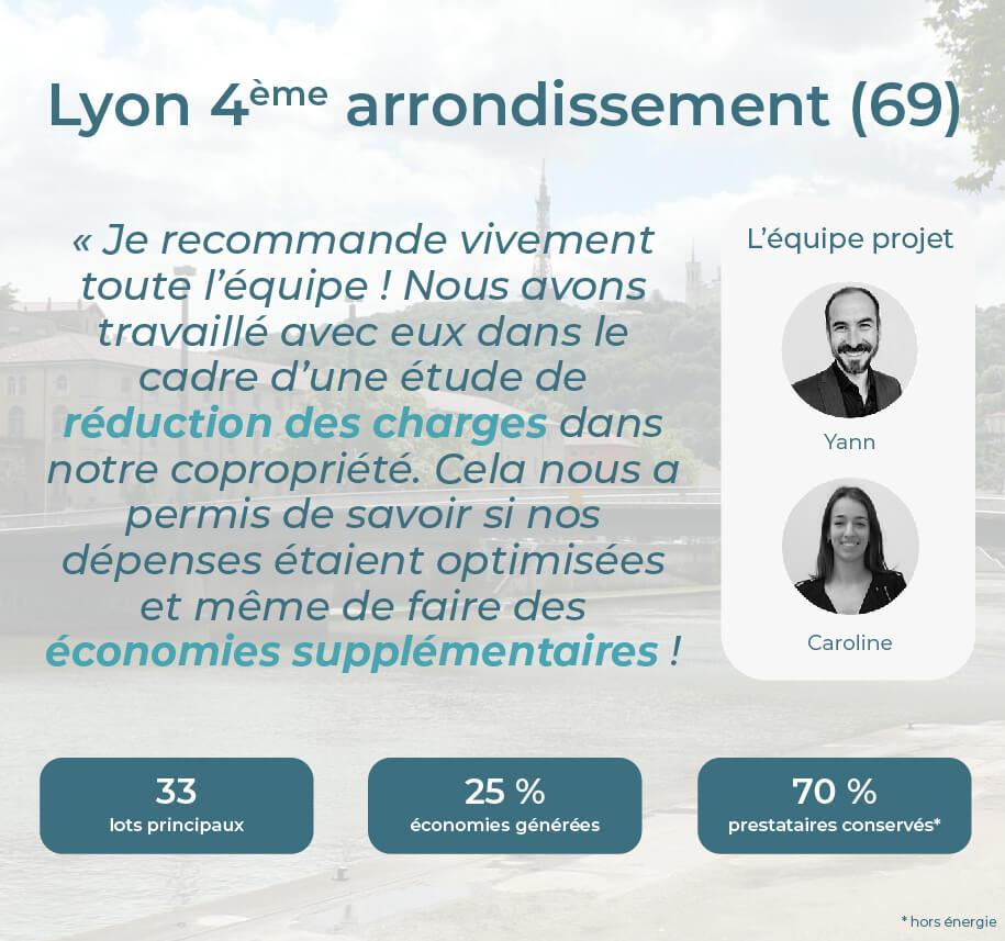Avis Econhomes copropriété charges Lyon 4 Rhone Alpes