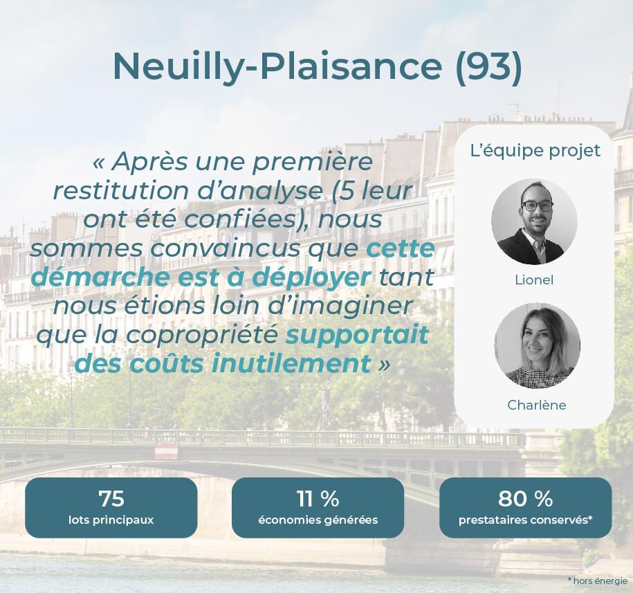 Avis Econhomes copropriété charges Neuilly Plaisance Ile de France