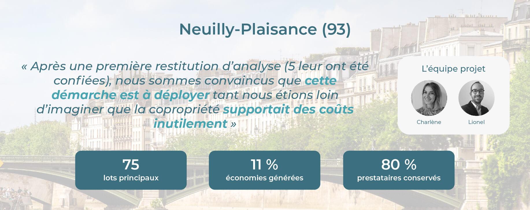 Avis Econhomes copropriété charges Neuilly-Plaisance Ile de France