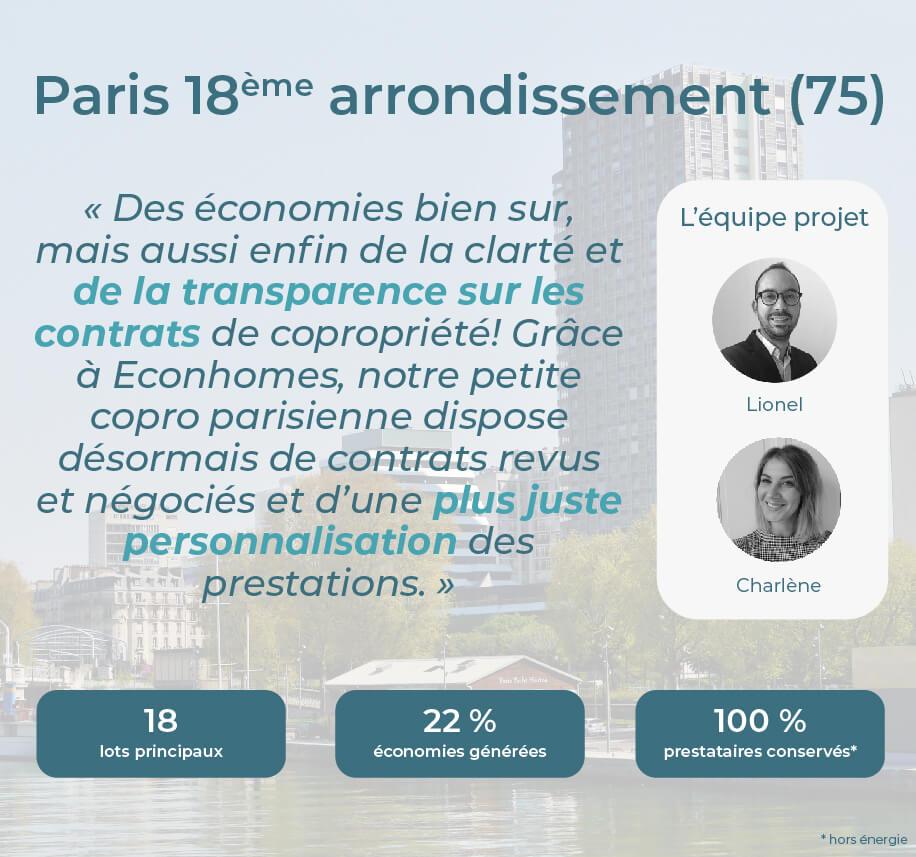 Avis Econhomes copropriété charges Paris Ile de France