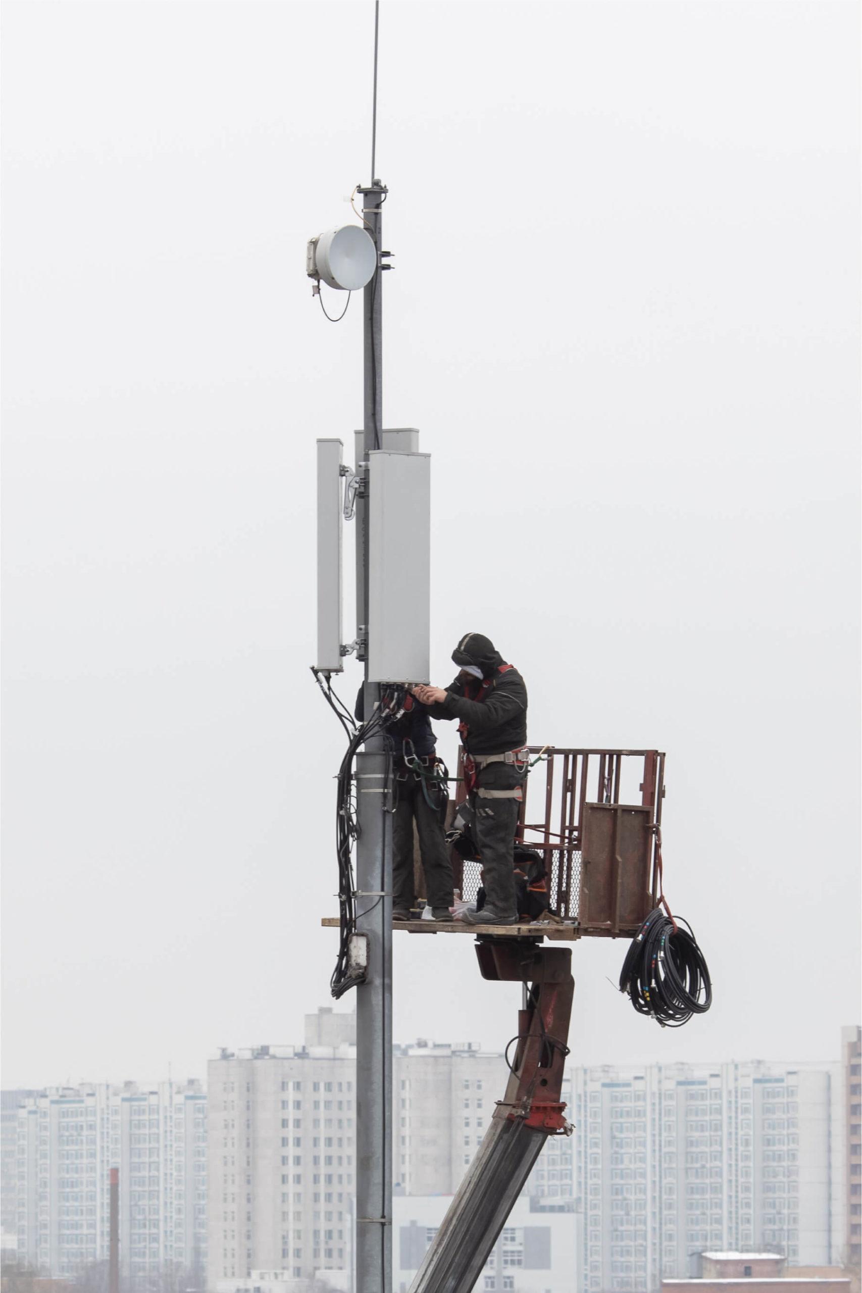 Installation antenne relais